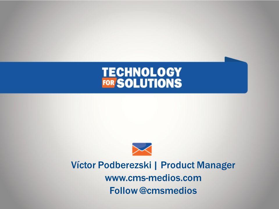 Víctor Podberezski | Product Manager