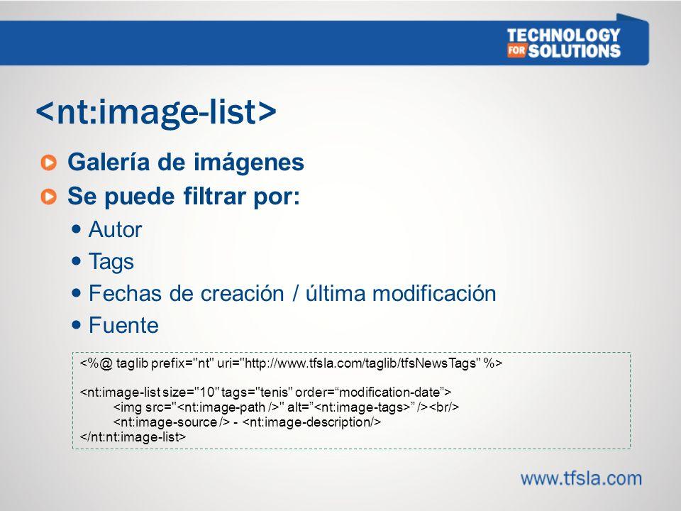 <nt:image-list>