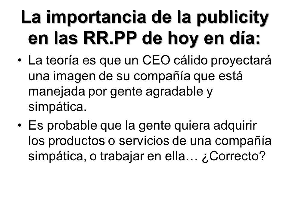 La importancia de la publicity en las RR.PP de hoy en día: