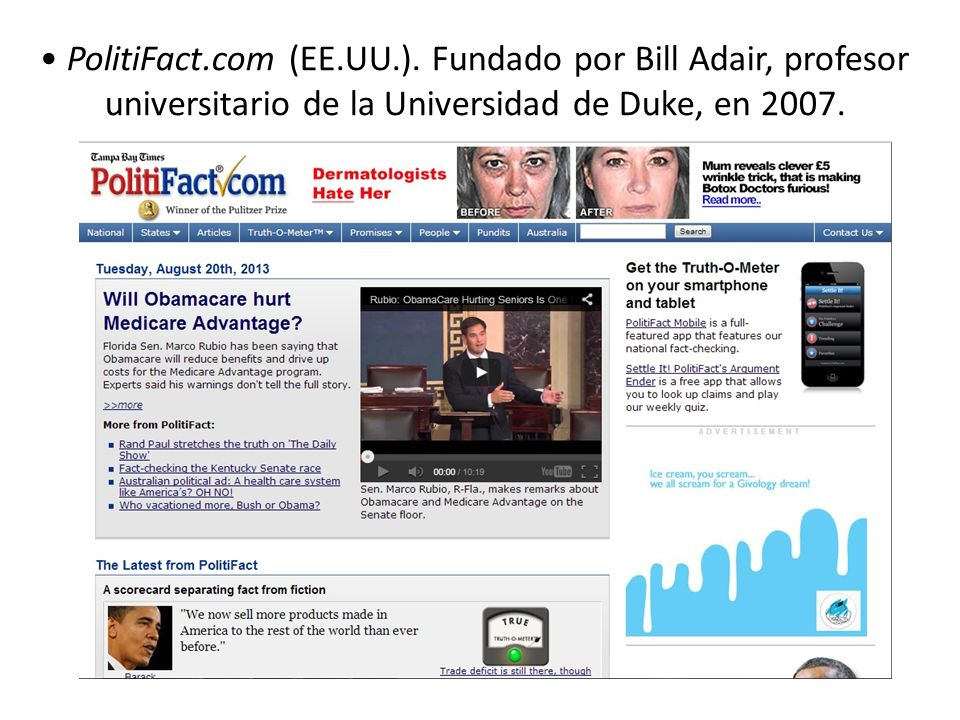 PolitiFact.com (EE.UU.).