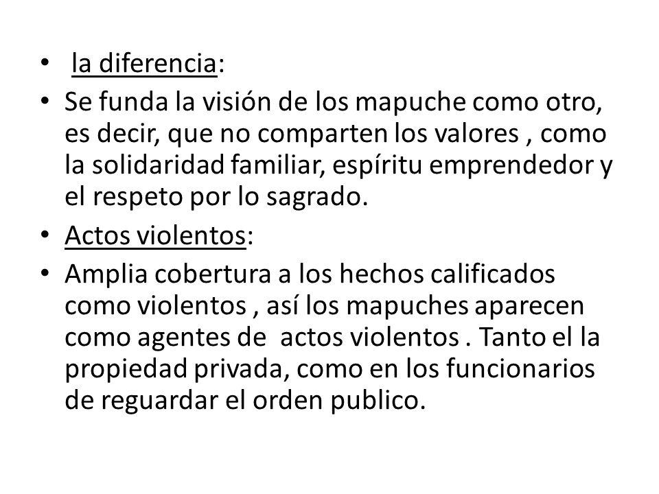 la diferencia: