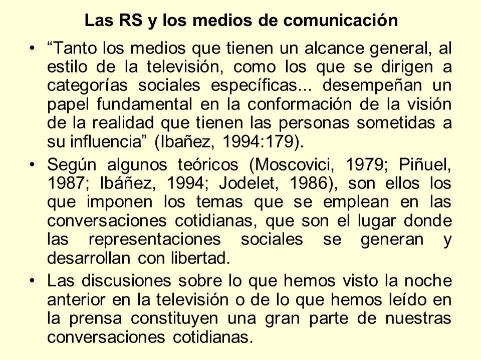 Las RS y los medios de comunicación