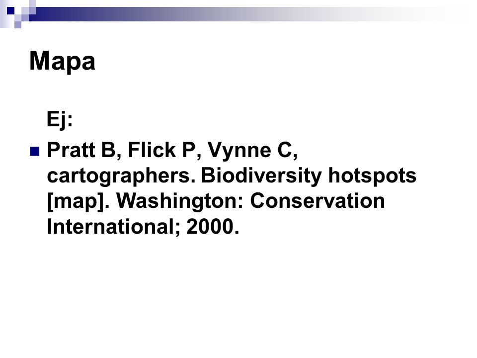 Mapa Ej: Pratt B, Flick P, Vynne C, cartographers.