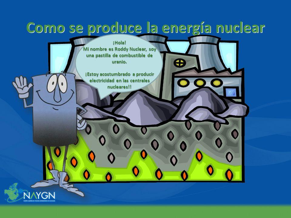 Como se produce la energía nuclear