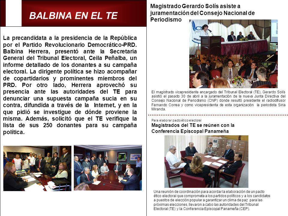 Magistrado Gerardo Solís asiste a juramentación del Consejo Nacional de Periodismo