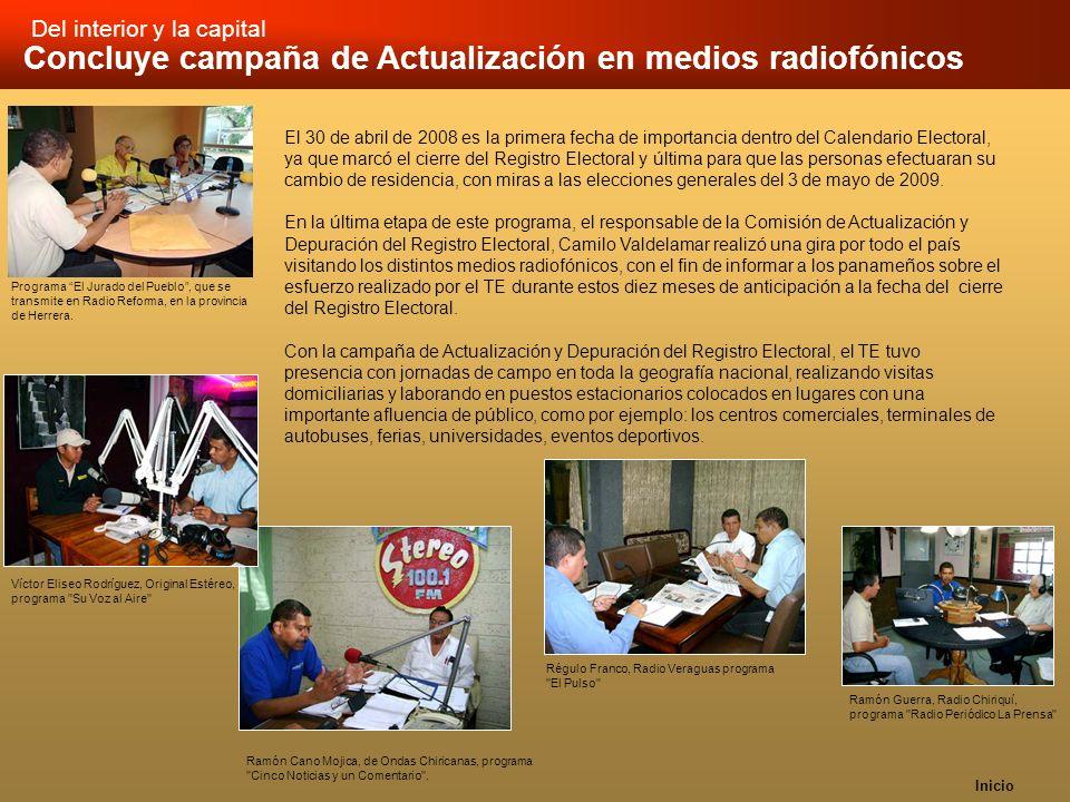 Concluye campaña de Actualización en medios radiofónicos
