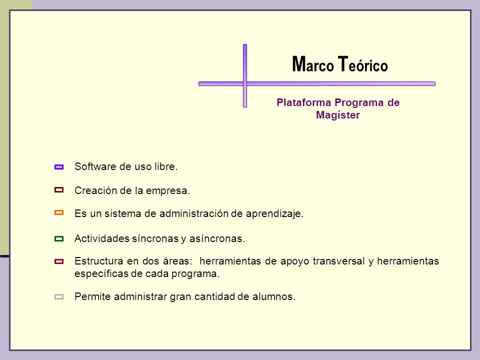 Plataforma Programa de Magíster