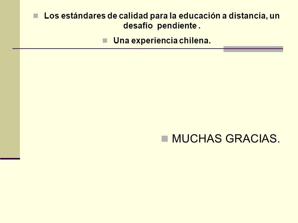 Una experiencia chilena.