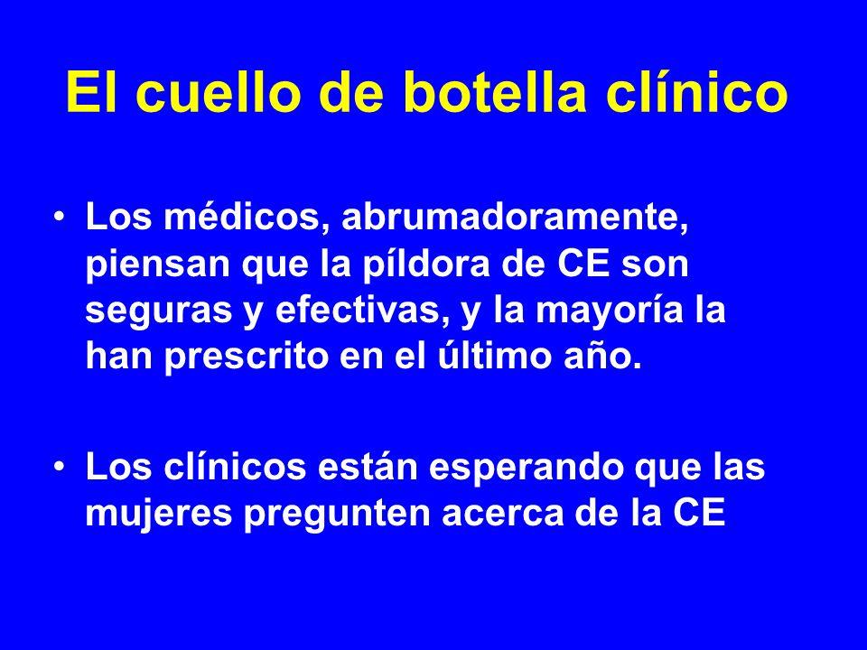 El cuello de botella clínico