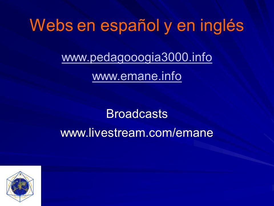 Webs en español y en inglés