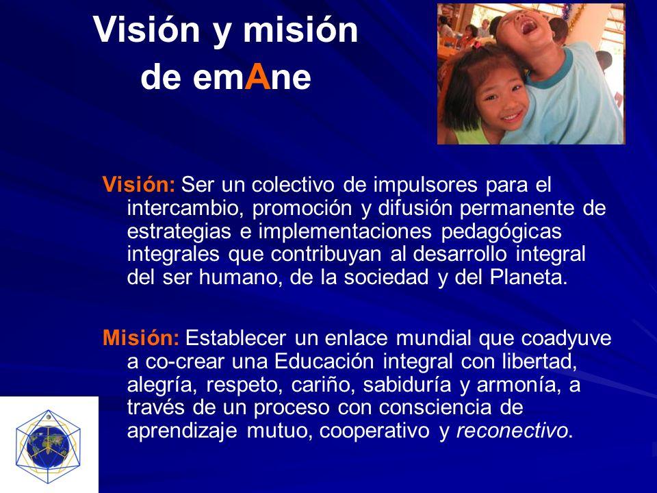 Visión y misión de emAne