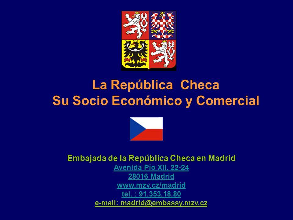 La República Checa Su Socio Económico y Comercial