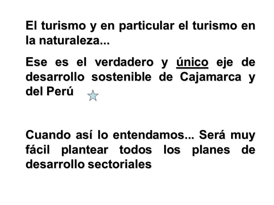 El turismo y en particular el turismo en la naturaleza...