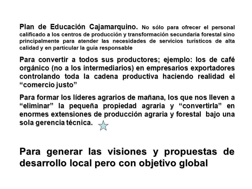 Plan de Educación Cajamarquino