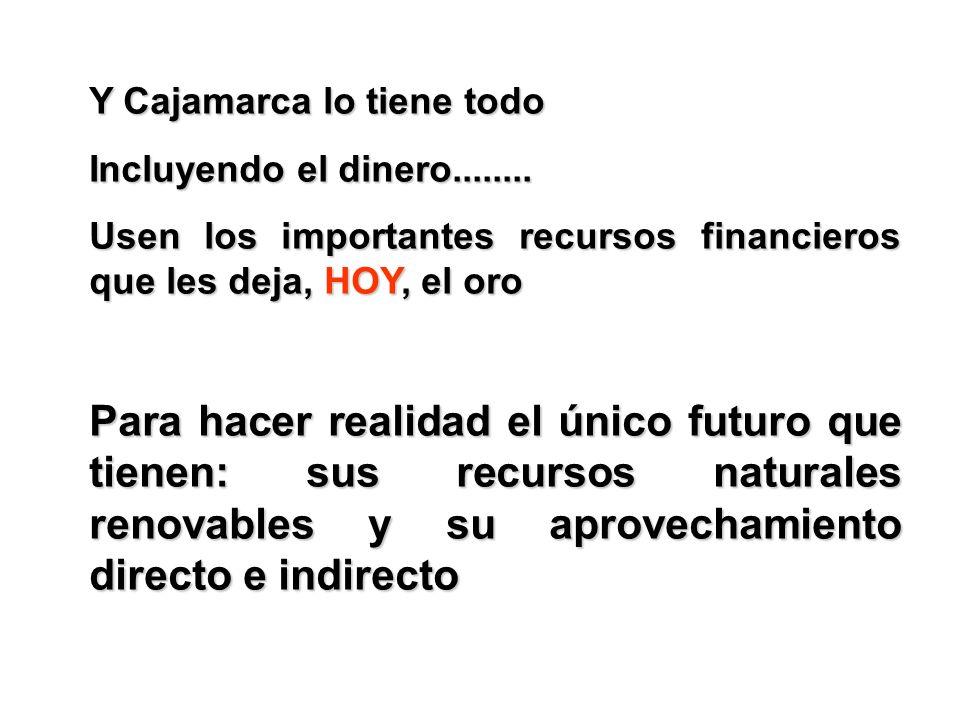 Y Cajamarca lo tiene todo