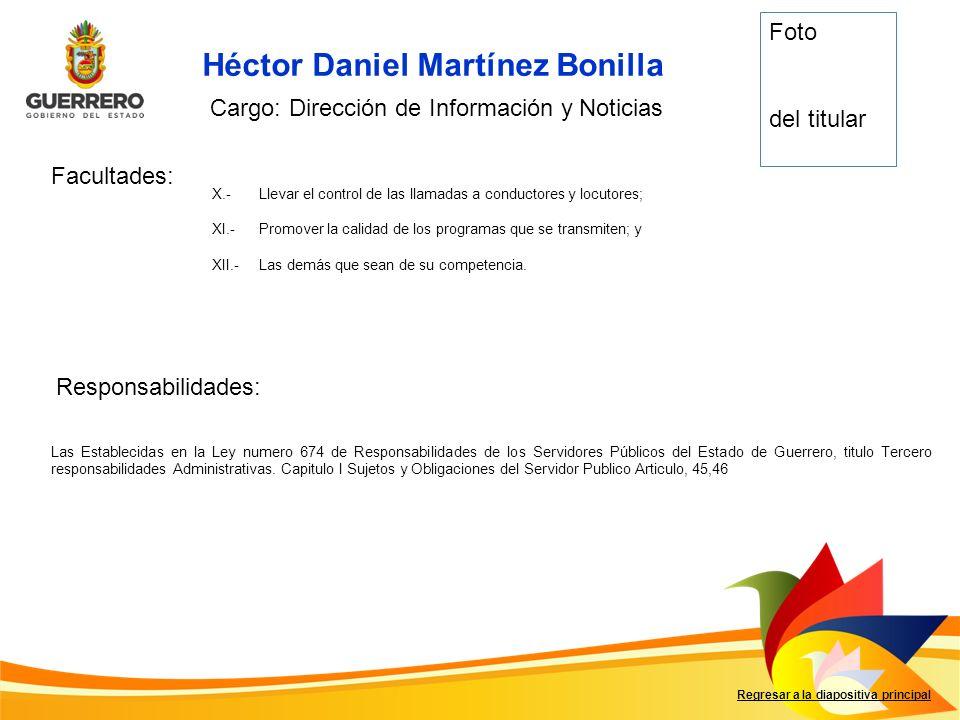 Héctor Daniel Martínez Bonilla