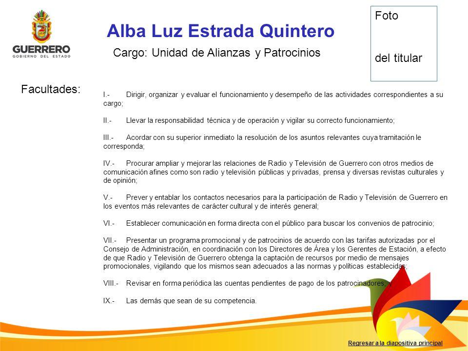 Alba Luz Estrada Quintero