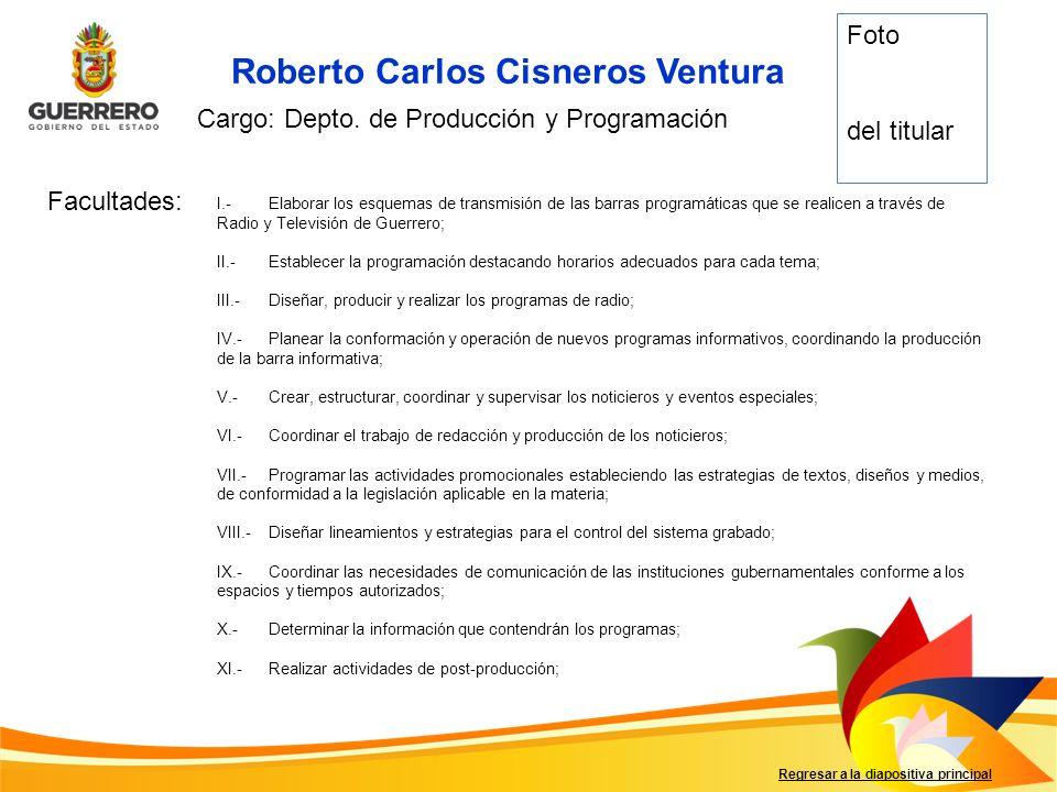 Roberto Carlos Cisneros Ventura