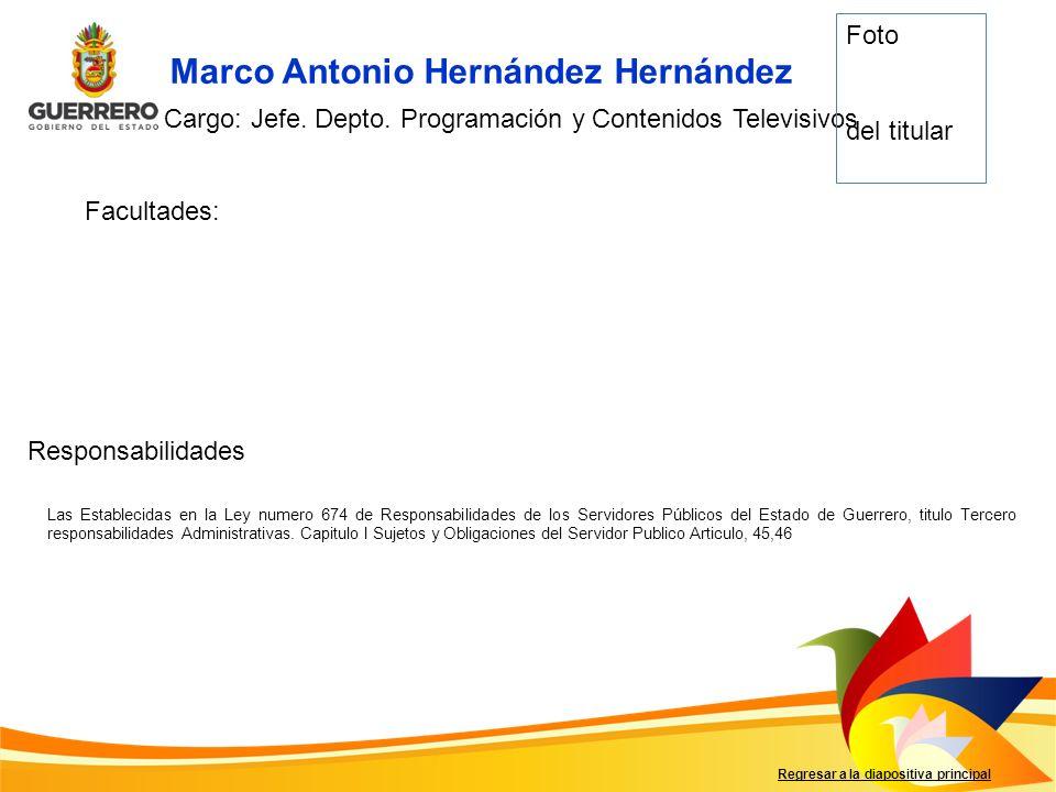 Marco Antonio Hernández Hernández