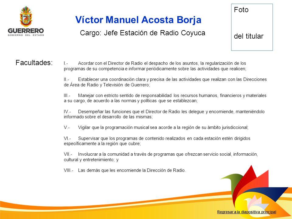 Víctor Manuel Acosta Borja
