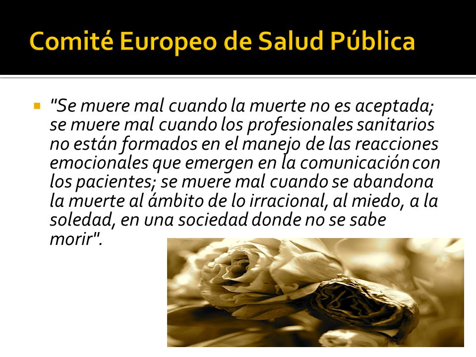 Comité Europeo de Salud Pública
