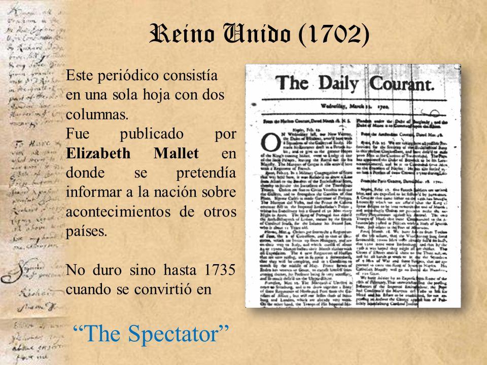 Reino Unido (1702) The Spectator