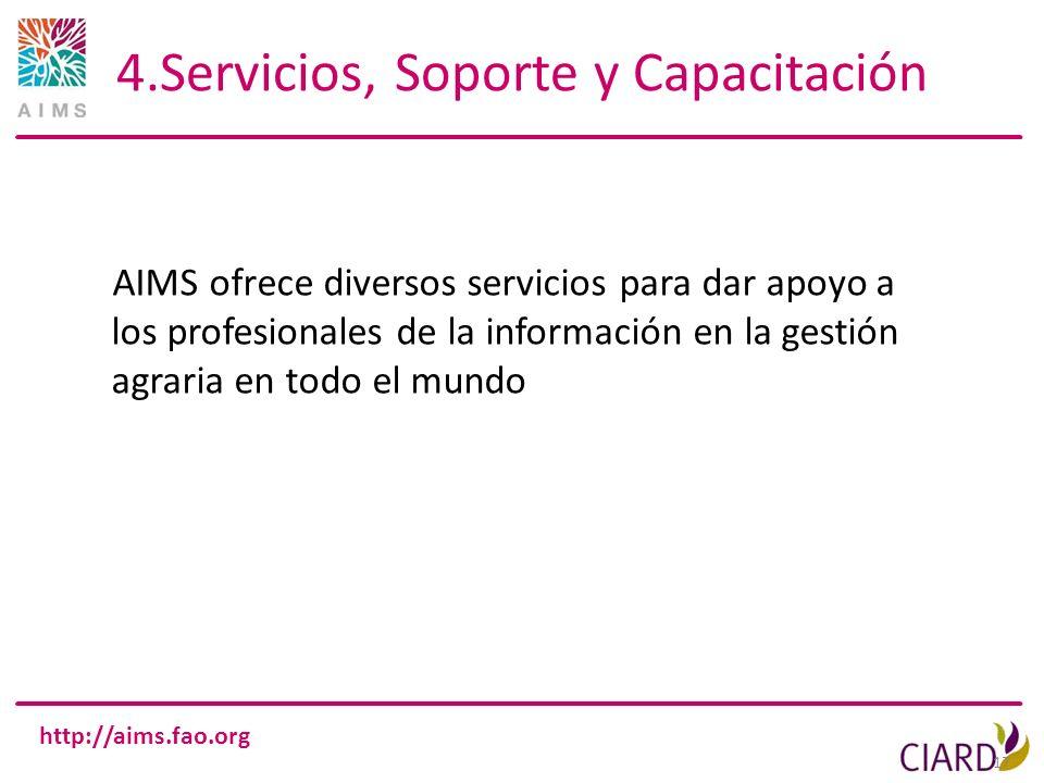 4.Servicios, Soporte y Capacitación