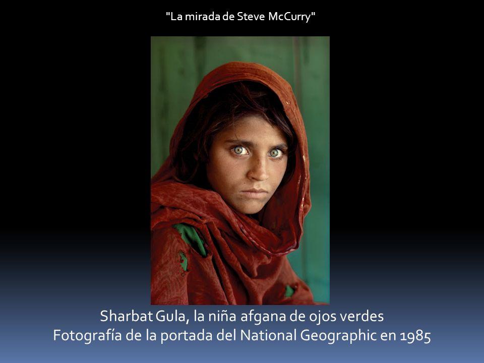 Sharbat Gula, la niña afgana de ojos verdes