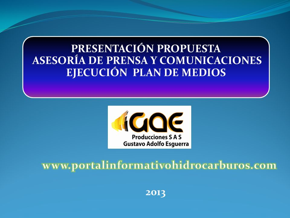 www.portalinformativohidrocarburos.com 2013