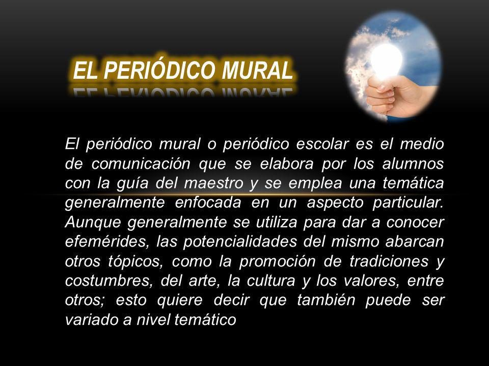 Escuela secundaria t cnica ppt video online descargar for Elementos del periodico mural