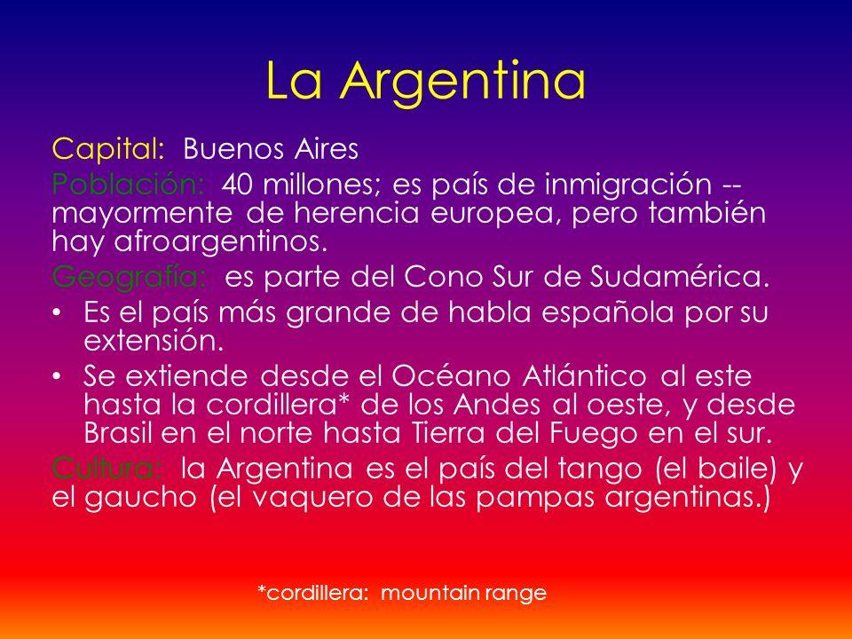 La Argentina Capital: Buenos Aires