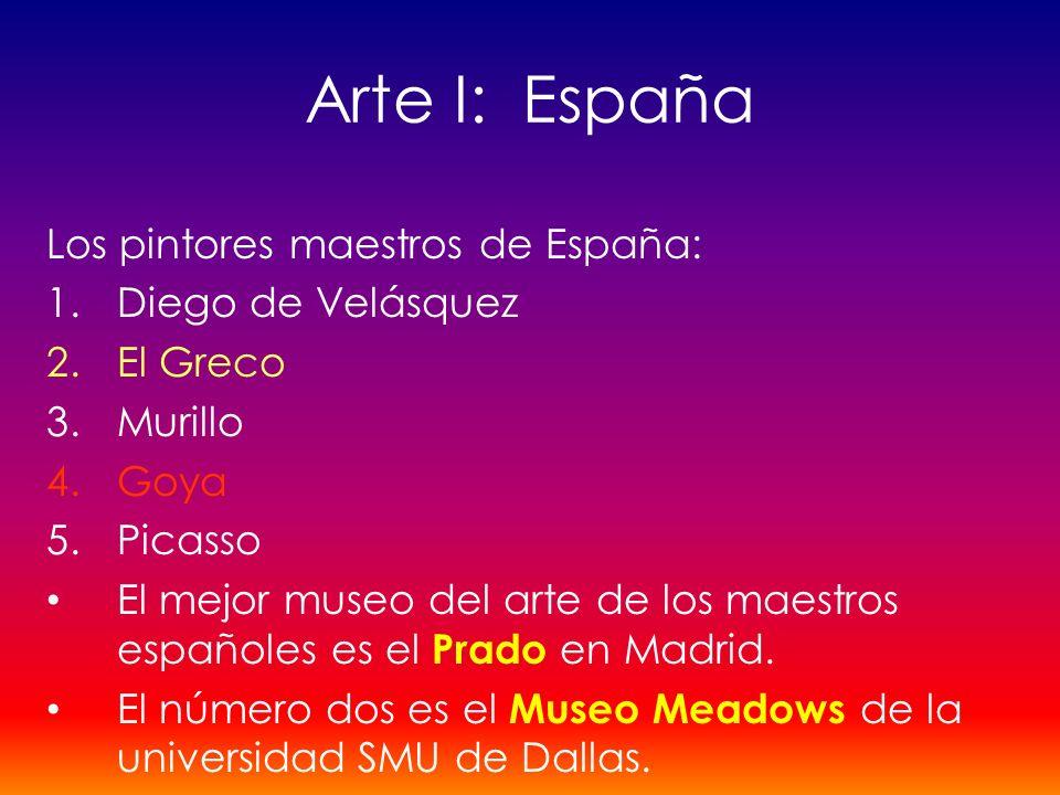 Arte I: España Los pintores maestros de España: Diego de Velásquez