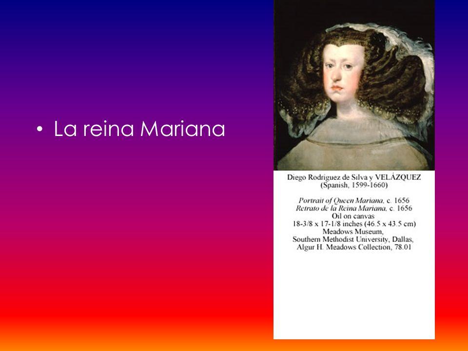 La reina Mariana