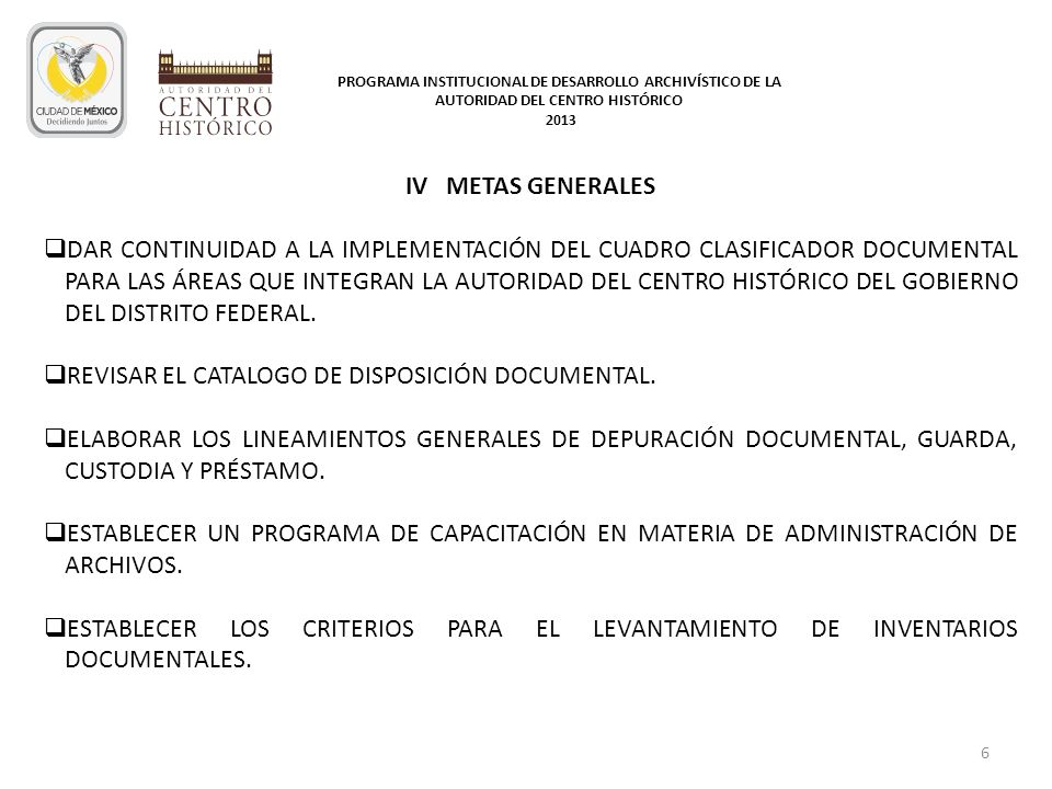 REVISAR EL CATALOGO DE DISPOSICIÓN DOCUMENTAL.