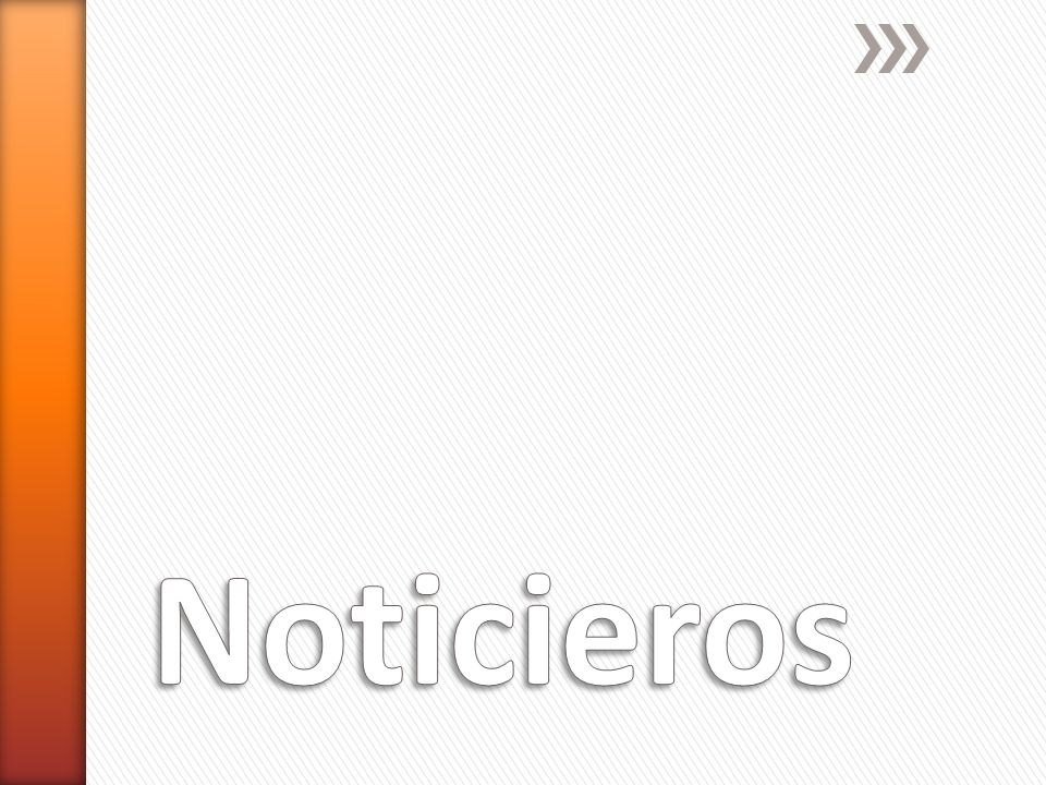 Noticieros