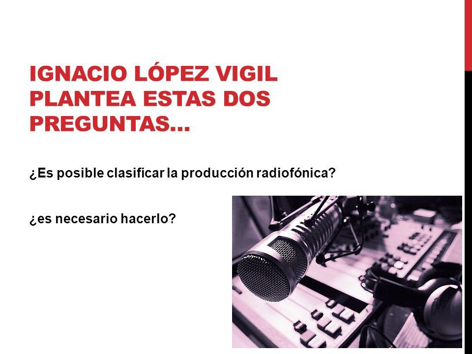 Ignacio López Vigil plantea estas dos preguntas…