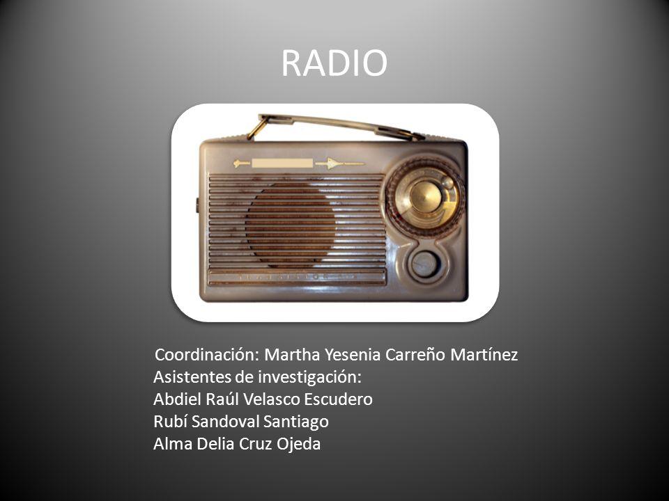 Coordinación: Martha Yesenia Carreño Martínez