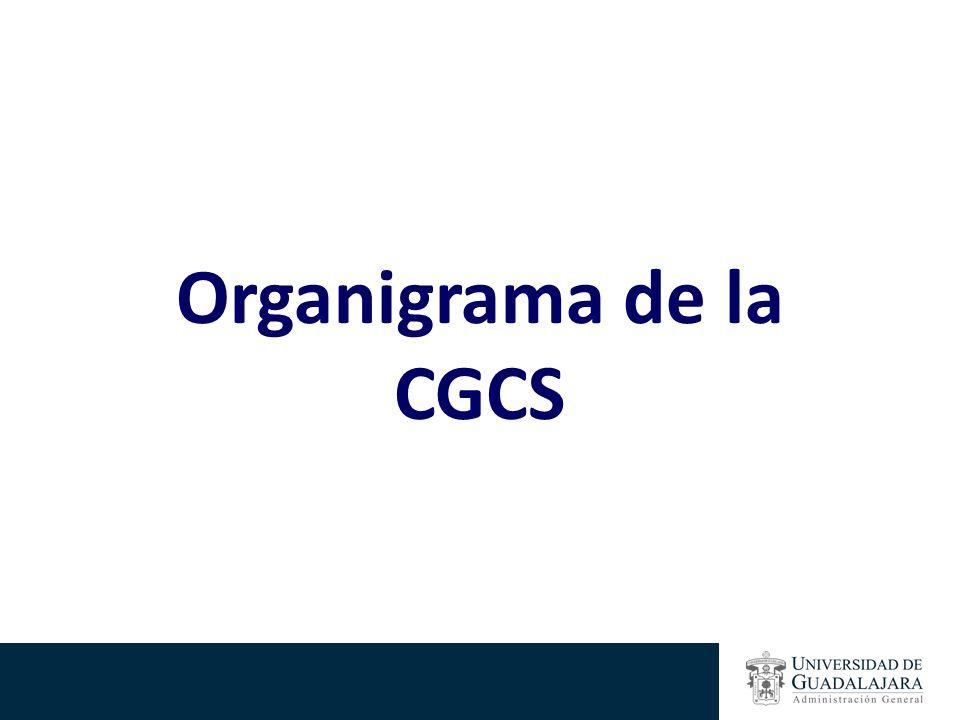 Organigrama de la CGCS