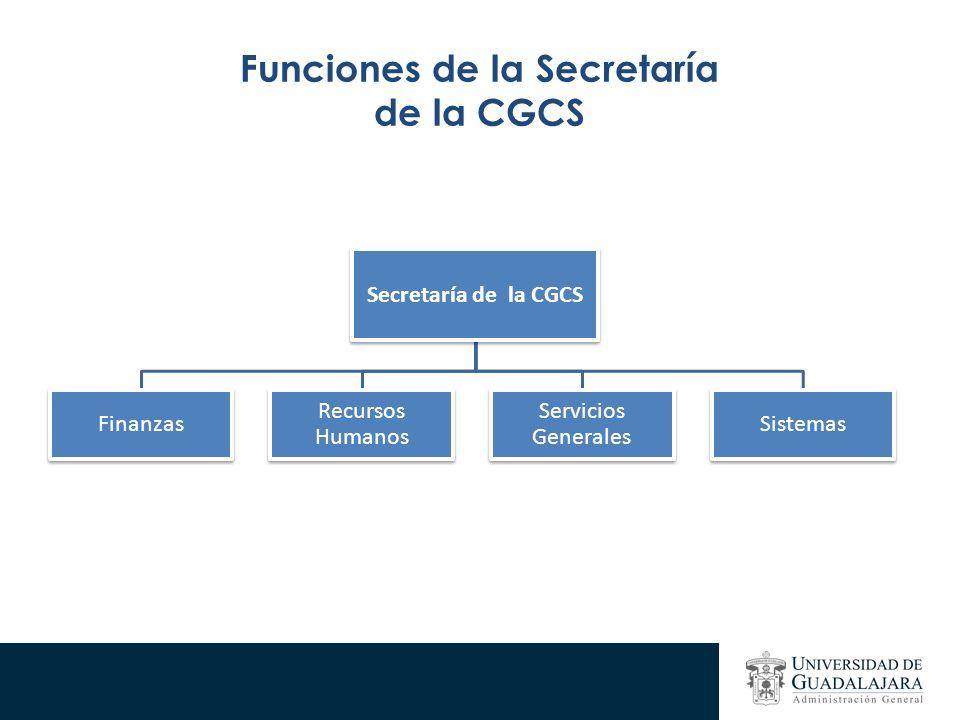 Funciones de la Secretaría