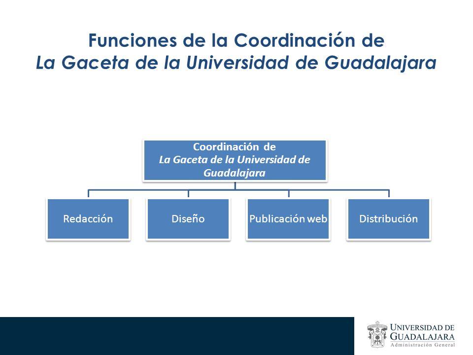 Funciones de la Coordinación de