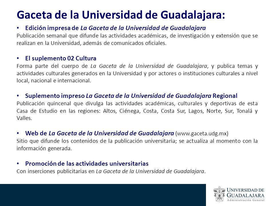 Gaceta de la Universidad de Guadalajara: