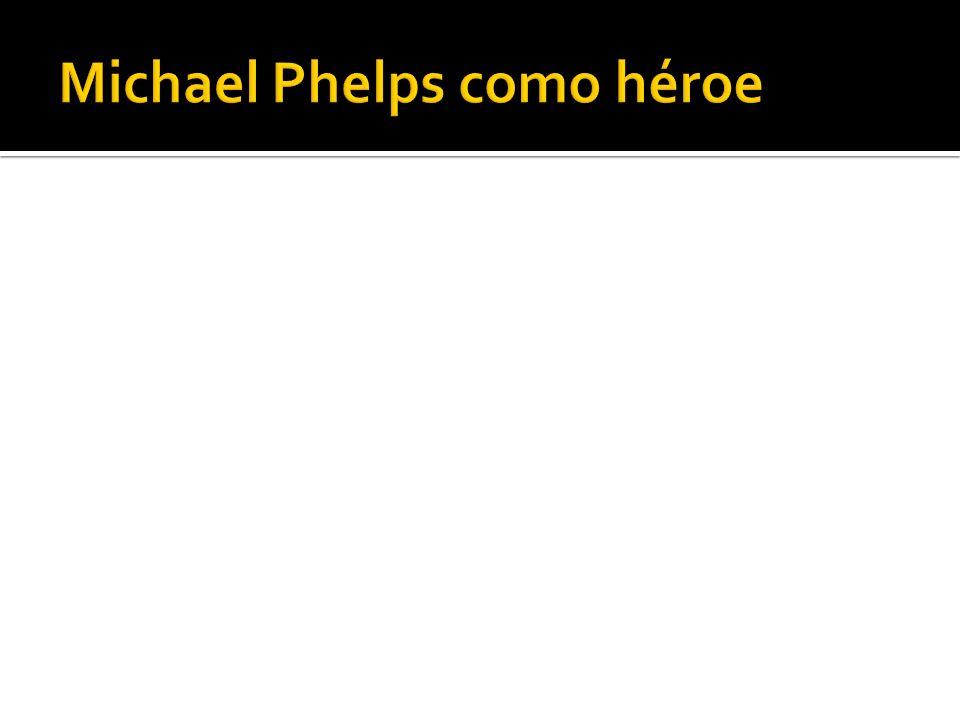 Michael Phelps como héroe