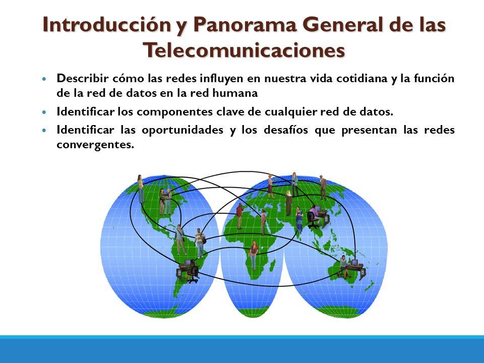 Introducción y Panorama General de las Telecomunicaciones
