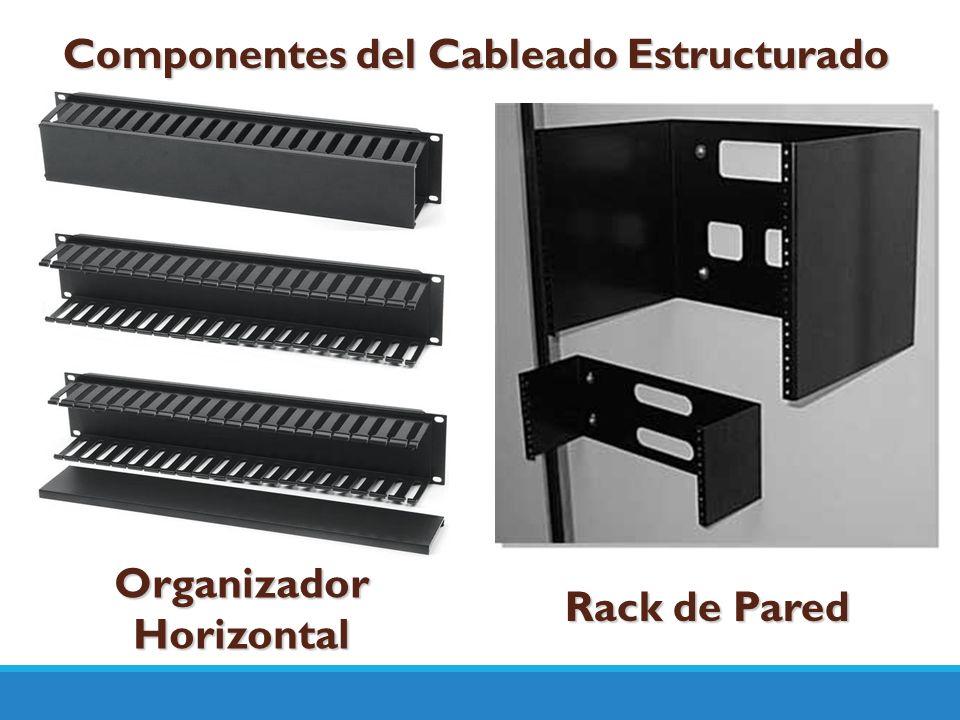 Componentes del Cableado Estructurado Organizador Horizontal