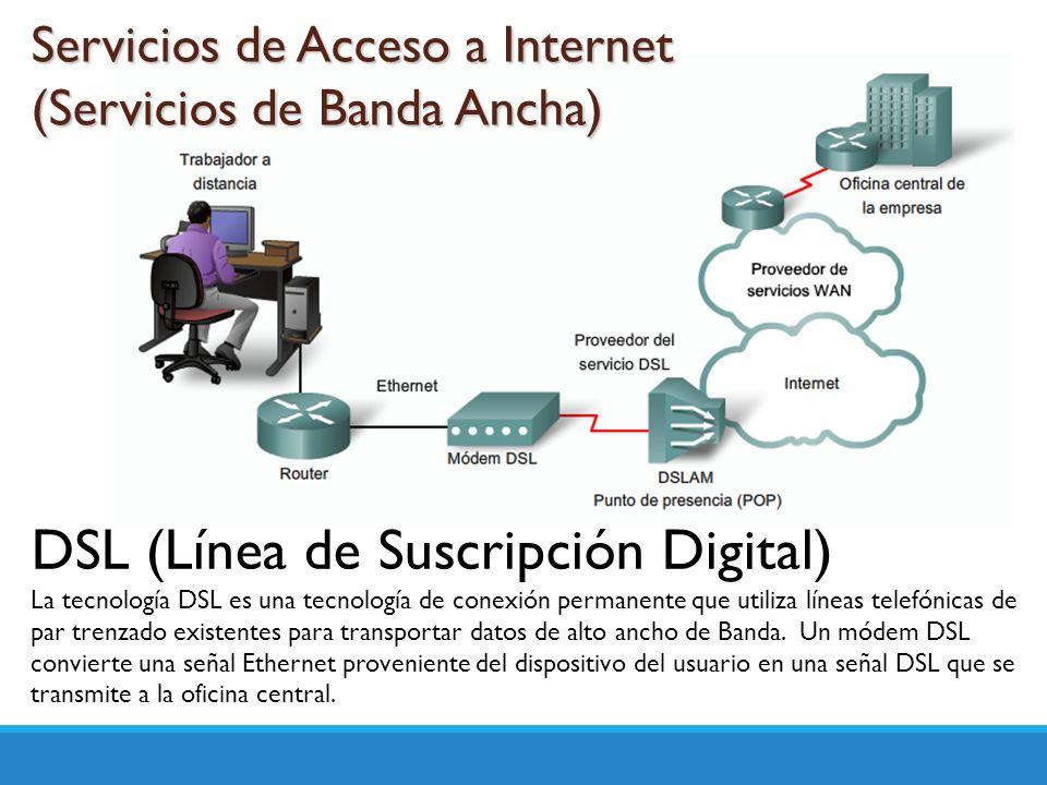 DSL (Línea de Suscripción Digital)