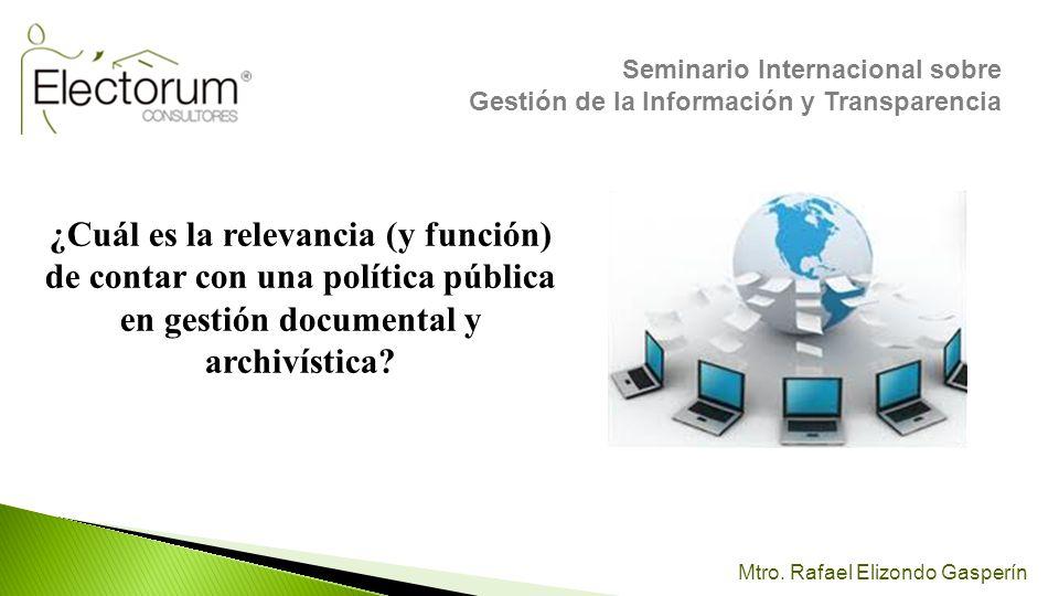 Seminario Internacional sobre