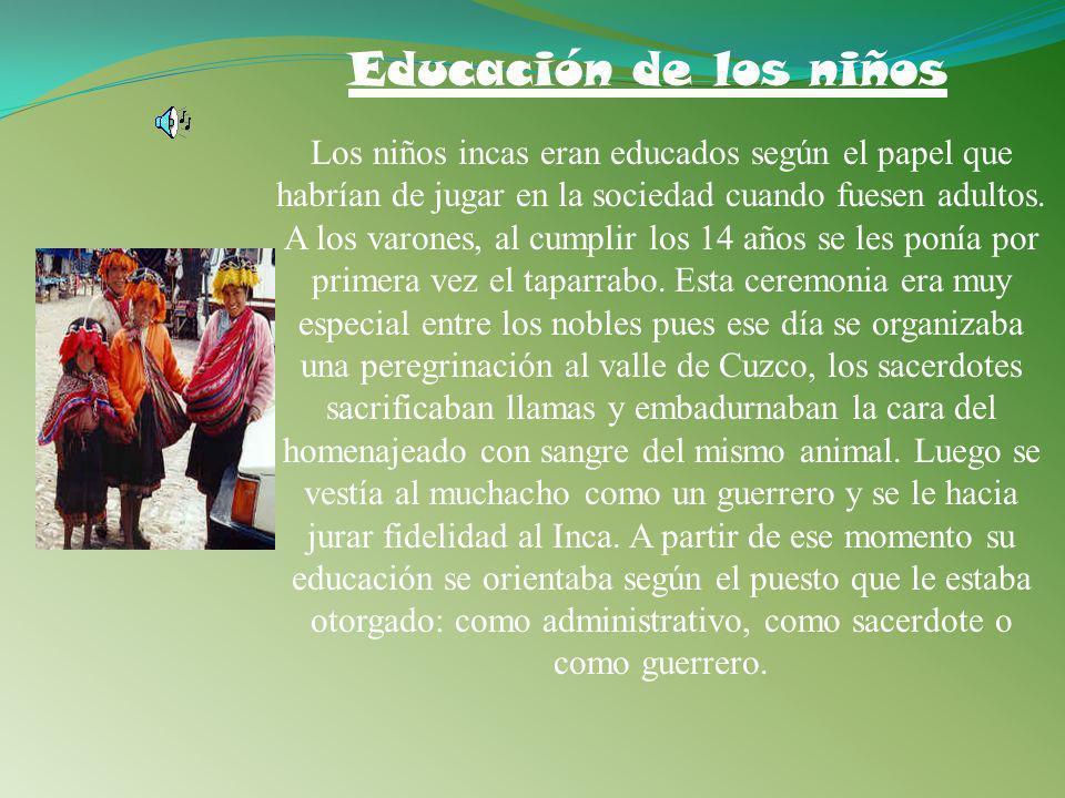 Educación de los niños