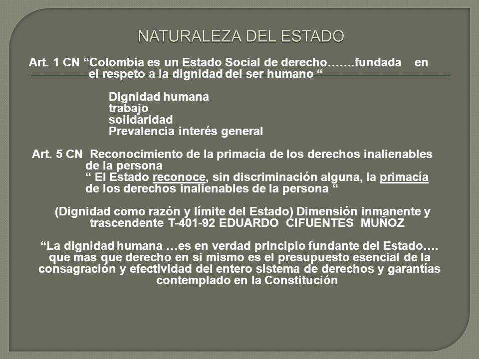 NATURALEZA DEL ESTADO