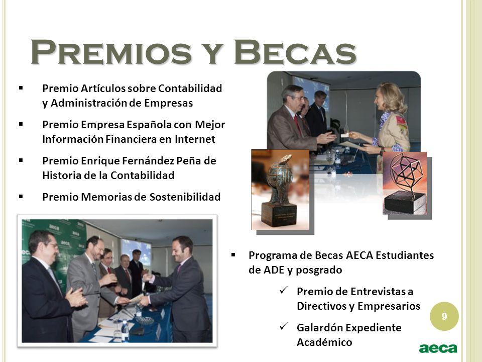 Premios y Becas Premio Artículos sobre Contabilidad y Administración de Empresas.