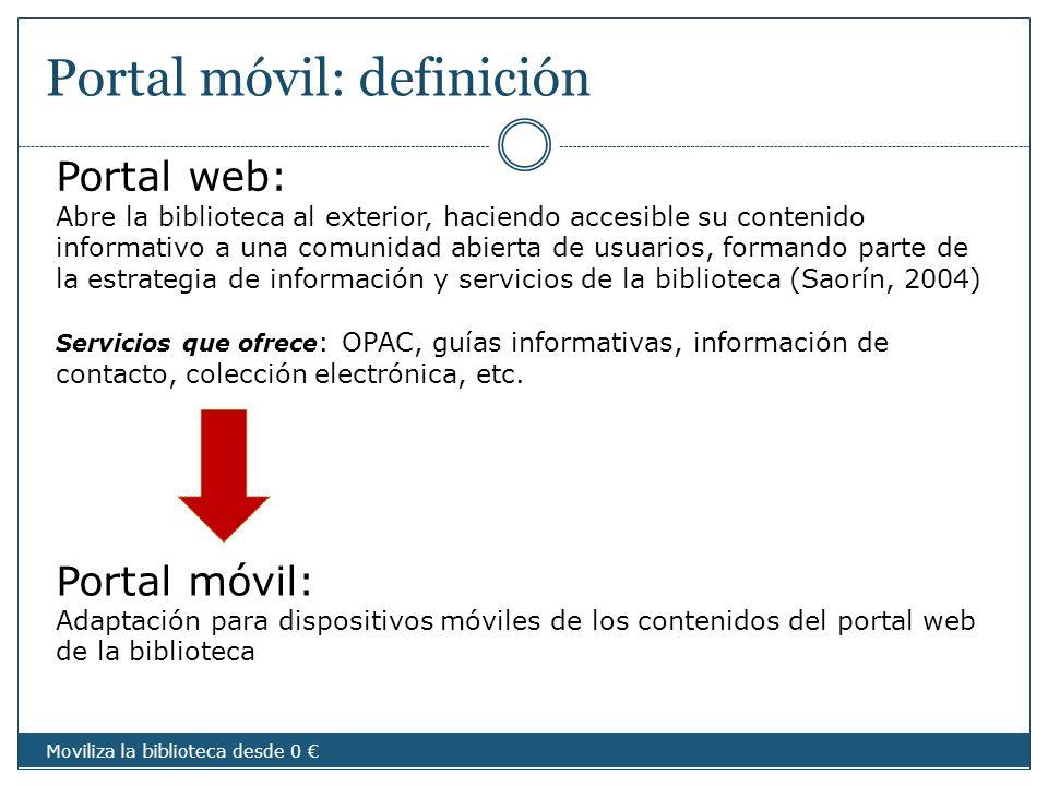 Portal móvil: definición